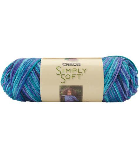 caron simply soft paints yarn jo