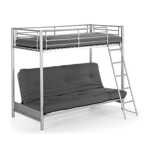 canapé convertible en lit superposé lit superposé en métal avec canapé lit 2 places jumbo par