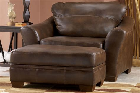 barclay sized leather chair