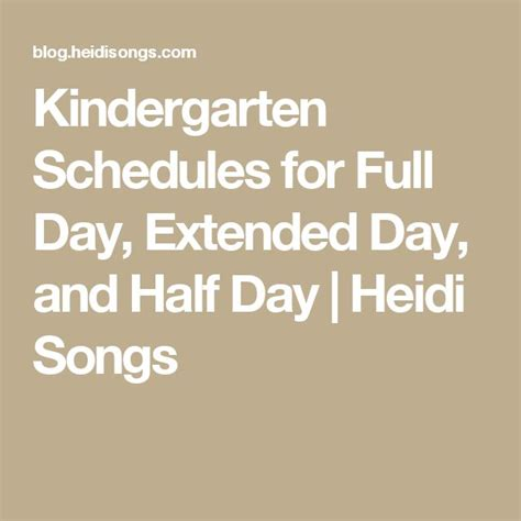 25 best ideas about kindergarten schedule on 145   9b497f8c6d070e1338591020cec49898