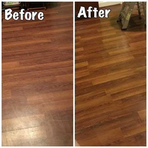 Laminate Floors ? Make Them Shine Again! Easy DIY step to
