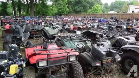 Used/salvage Atv -4 Wheeler Parts For Sale In Rossville