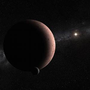 MK 2: Astronomers Discover Tiny Moon Orbiting Makemake ...
