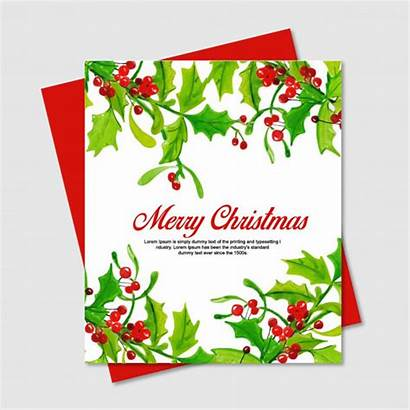 Watercolor Cards Floral Premium