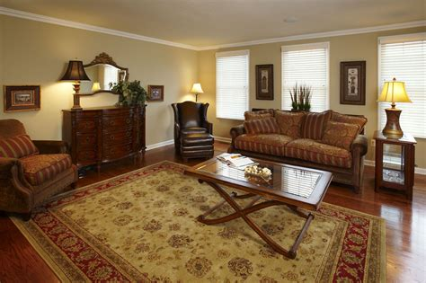 Living Room Furniture Home Depot by Living Room With Hardwood Floors Rug And Cherry