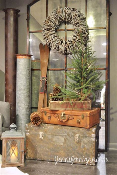 rustic christmas 45 most pinteresting rustic christmas decorating ideas all about christmas