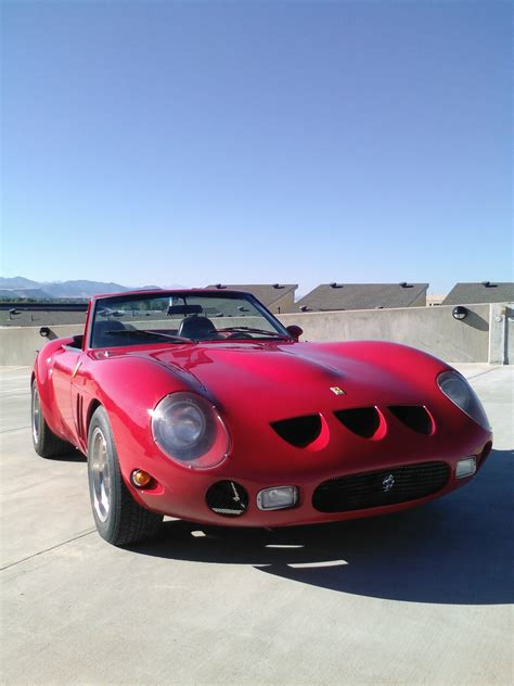 351 examples were built between 1963 and late 64. 1962 Replica/kit Ferrari 250 GTO Spyder for sale