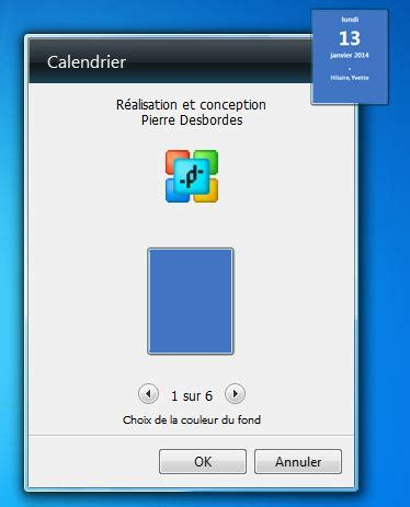 gadget bureau gadgets bureau calendrier