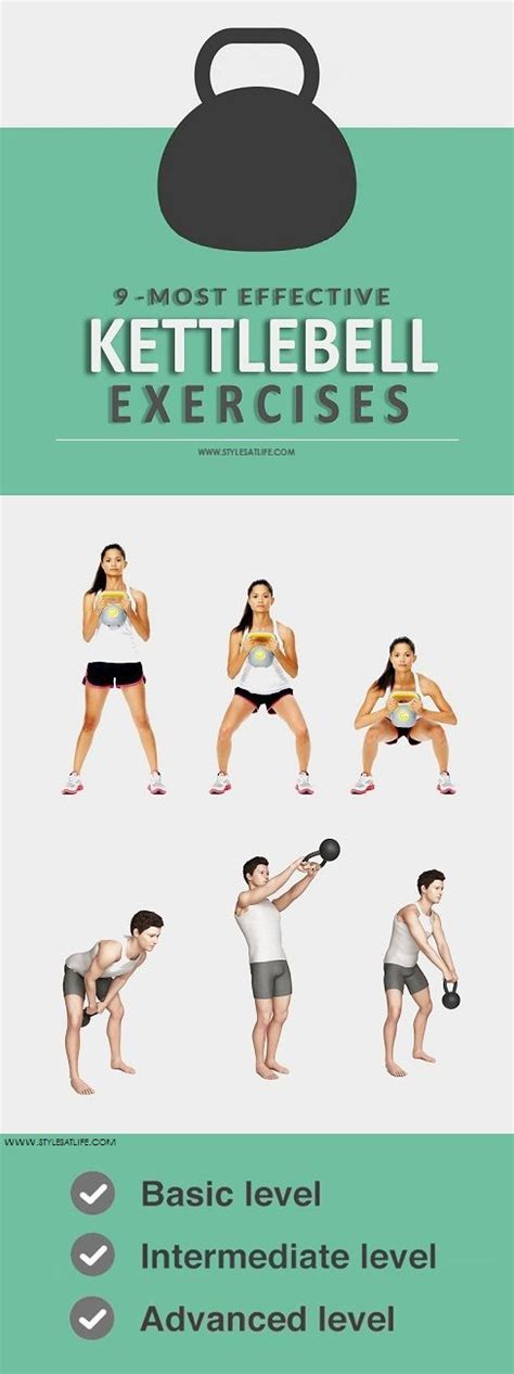 kettlebell exercises effective most workouts styles kettle bell workout stylesatlife handle routines weight