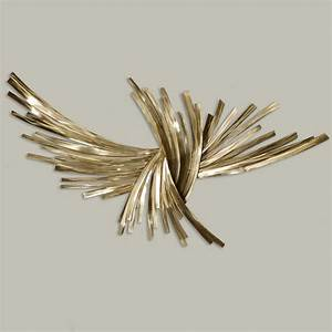 infinity gold metal wall sculpture With metal wall art
