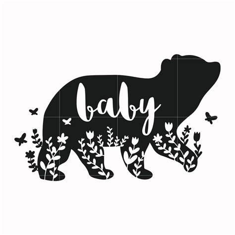 baby bear svg mother day svg dxf eps png digital file svgtrending