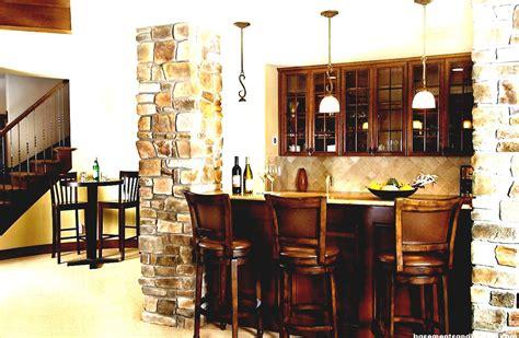 Basement Bar Design Ideas by Cool Basement Corner Bar Ideas With Great Lighting