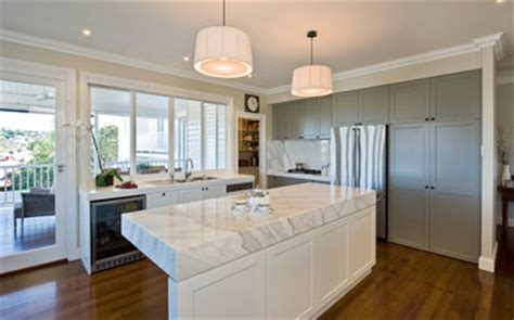 Kitchen Bench Tops Qld by Kitchen Design Marble Benchtops Photo Interiors By
