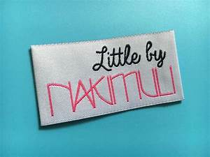 300 custom woven labels brand labels sewing labels woven With custom woven sewing labels