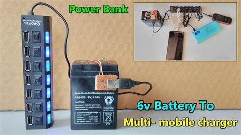 usb multi mobile charger   battery big power