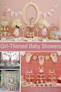 Adorable Girl Baby Shower Ideas - Design Dazzle