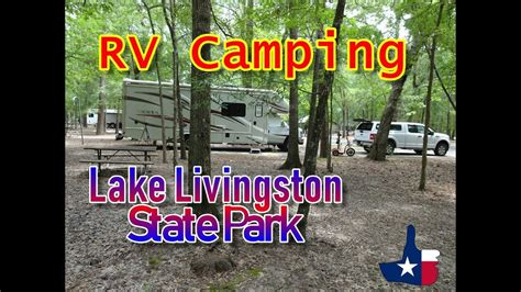 Blue and channel catfish are also common catches throughout the year. Lake Livingston State Park - Texas RV Camping - YouTube