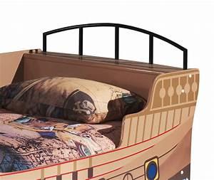 Bett Mit Ablagefläche : piratenschiff als bett mit lattenrost f r kinder kaufen enter ~ Indierocktalk.com Haus und Dekorationen