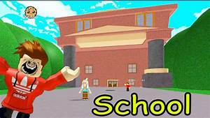 At School During Summer Break!? Escape the School Obby ...