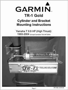 Garmin Tr 1 Gold Marine Autopilot Instruction Manual