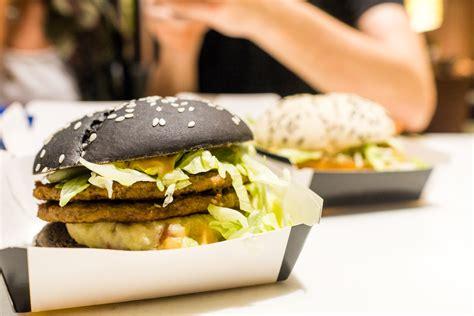 cuisine burger mcdonald 39 s hong kong black squid ink white burger review