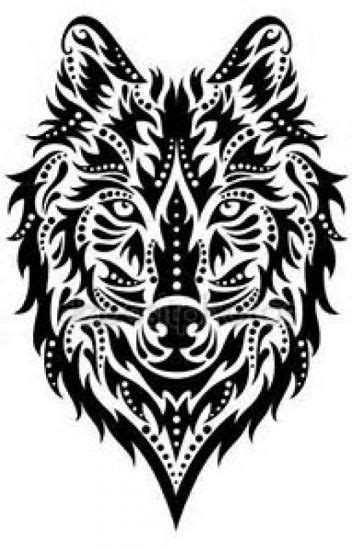 The lone wolf | Other Percy Jackson books to read | Wolf tattoos, Wolf tattoo design, Tribal