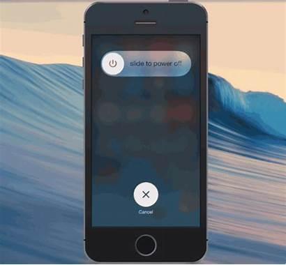 Iphone Frozen Turning Power Ios Fix Slide