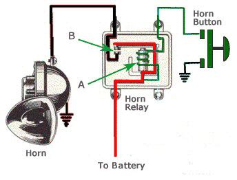 Horn Relay Trifive Chevy