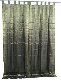 1000 images about india silk sari curtain on