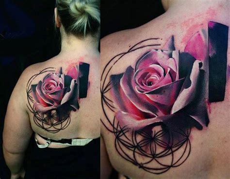 ideas  realistic flower tattoo  pinterest