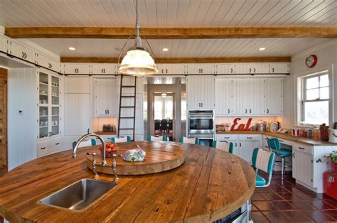 retro rustic kitchen hamptons habitat