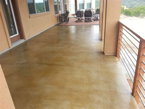 Polished & Stained Concrete Floors