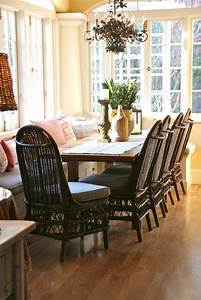 Wicker Dining Chairs For Beautifully Comfortable Space