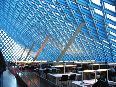 seattle library central washington architecture