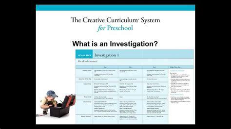 creative curriculum system  preschool