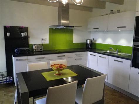 cuisine verte cuisine verte et blanche