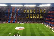 Barcelona produce awesome Gracies Johan Cruyff video pre