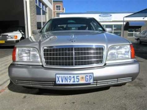 2014 automatic sedan 62 000km petrol western cape. 1994 MERCEDES-BENZ S-CLASS S500 Auto For Sale On Auto Trader South Africa - YouTube