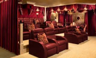 custom home theater shady residence traditional