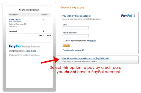 pay paypal invoice  credit card paypal invoice