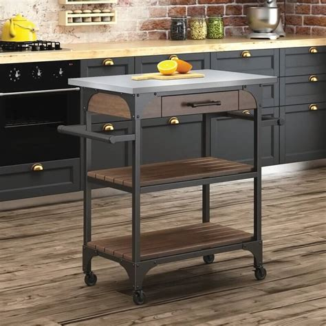 rustic kitchen islands and carts kitchen islands insteading 7843
