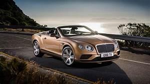 Bentley Continental GT Convertible 2015 Wallpaper HD Car