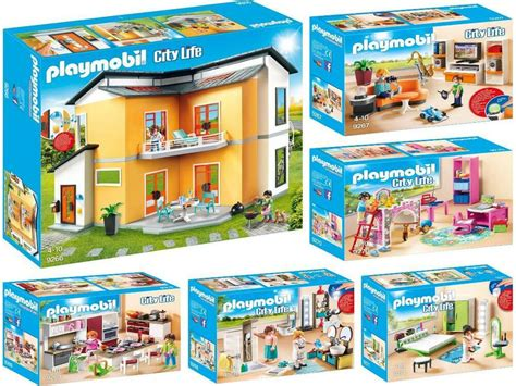 Modernes Haus Playmobil by Playmobil 9266 9271 Moderne Maison 5 Chambre Neuf
