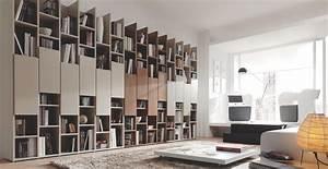 Bibliothèque Murale Design : biblioth que murale contemporaine m5 piferrer biblioth que pinterest biblioth que murale ~ Teatrodelosmanantiales.com Idées de Décoration