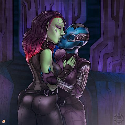 Gamora And Nebula Patreon By Tophatharry Hentai Foundry