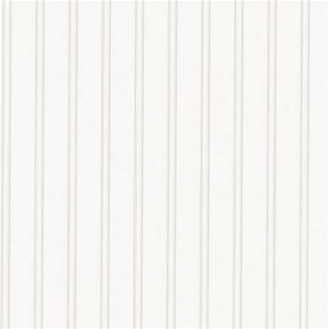 Graham & Brown White Beadboard Paintable Wallpaper15274