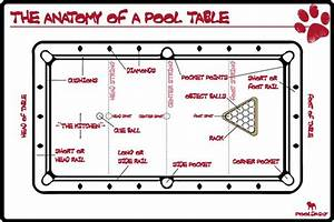 The Anatomy Of A Pool Table By Pooldawg Com