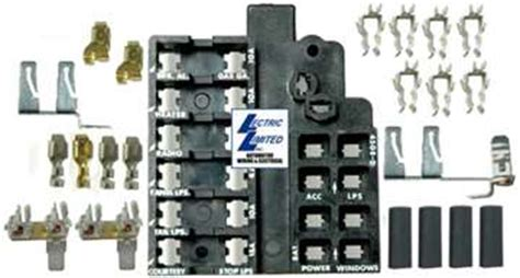 66 Chevelle Fuse Box Diagram by 1 40380 64 66 Fuse Block Repair Kit