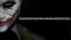 Batman Joker The Dark Knight Heath Ledger Quotes Typo
