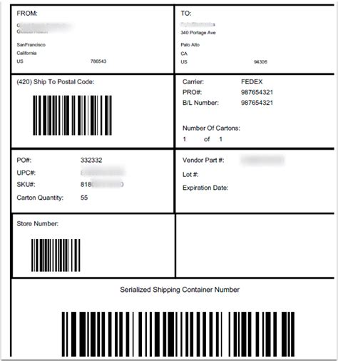 The previous accurate term was uccean 128. How to Print UCC-128 Shipping Labels - TPSynergy